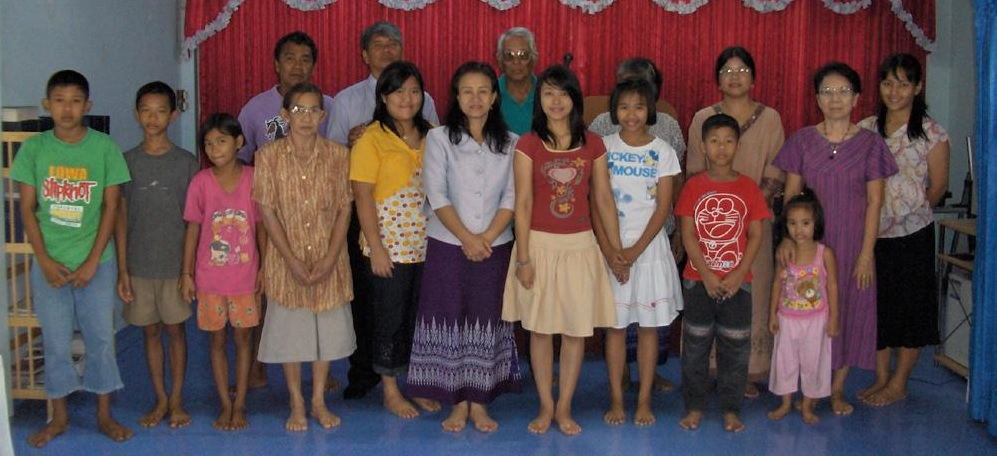 Chainat Baptist Church Members